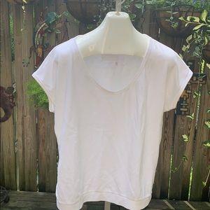 Cute light weight white sweatshirt